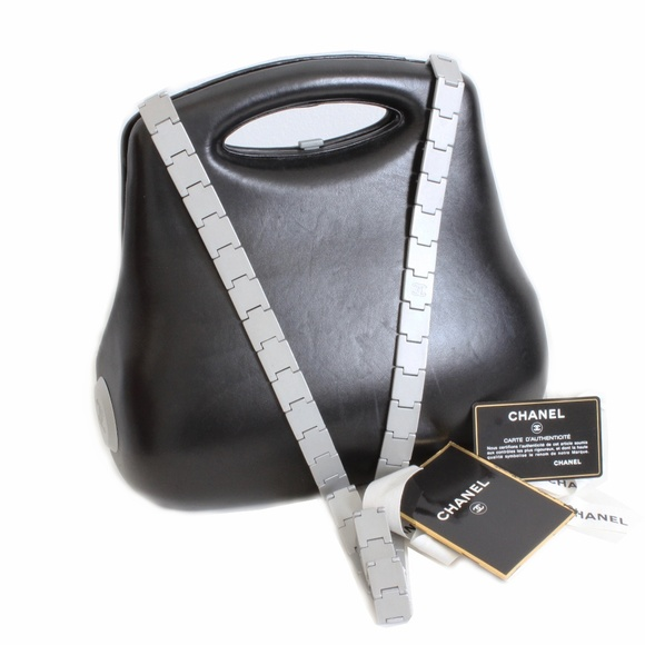 6caf4ccf8f6e CHANEL Bags | Black Leather Butt Bag Limited Ed 2005 | Poshmark